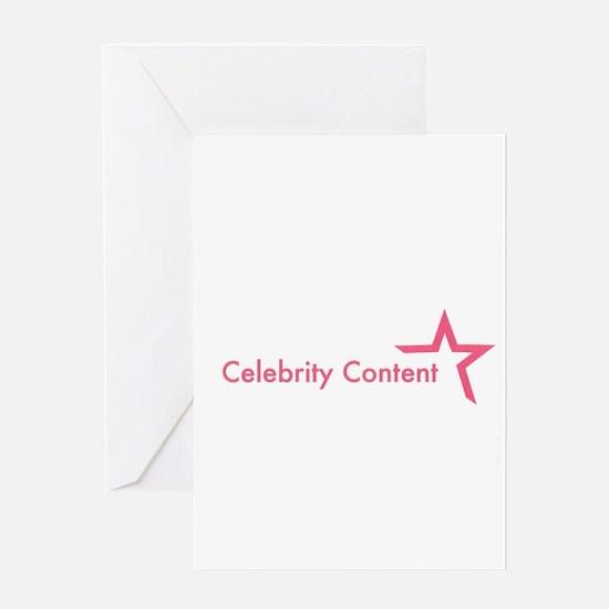 Cute Celebrities Greeting Card