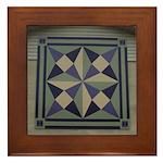 Amethyst Framed Tile