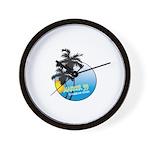 Justin Thyme Wall Clock
