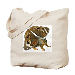 Butterfly Squirrel Tote Bag