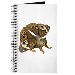 Butterfly Squirrel Journal