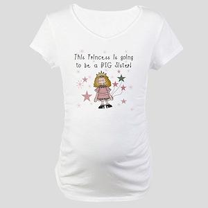 Princess Future Big Sister Maternity T-Shirt