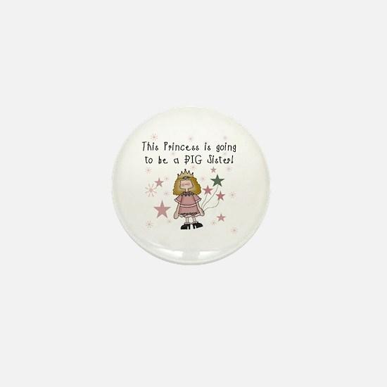 Princess Future Big Sister Mini Button