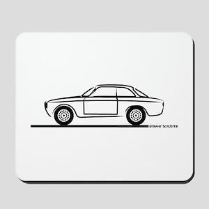 1966 Alfa GTA GTV Mousepad