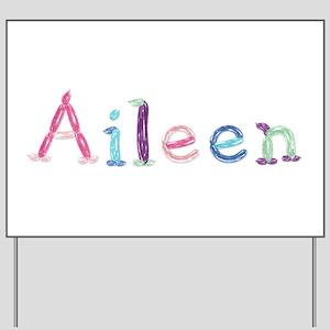 Aileen Princess Balloons Yard Sign