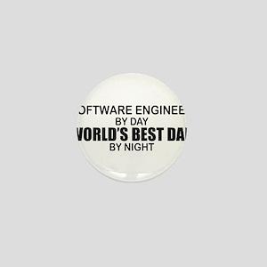 World's Best Dad - Software Eng Mini Button