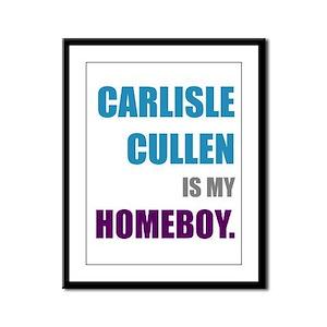 Carlisle Cullen is my Homeboy Framed Panel Print
