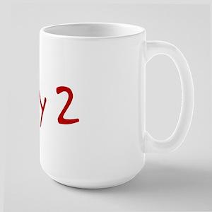"""May 2"" printed on a Large Mug"