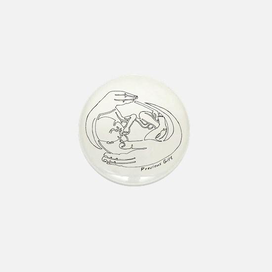 Precious Gift Mini Button