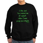 I like you! Sweatshirt (dark)