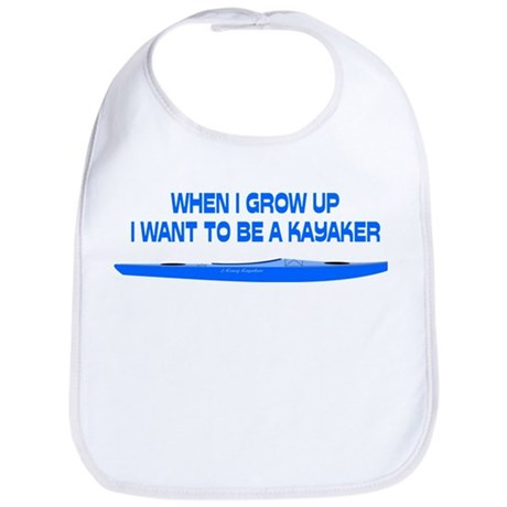 When I Grow Up (Blue) Bib