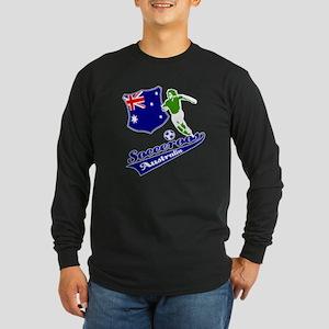 Australian soccer design Long Sleeve Dark T-Shirt