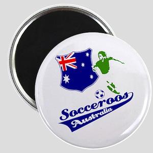 Australian soccer design Magnet