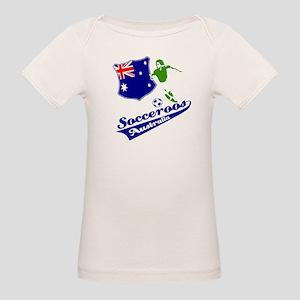 Australian soccer design Organic Baby T-Shirt