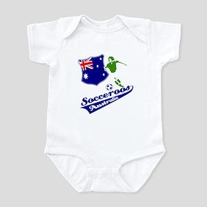 Australian soccer design Infant Bodysuit