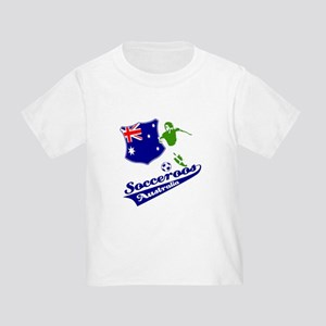 Australian soccer design Toddler T-Shirt