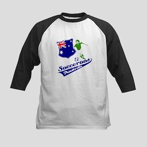 Australian soccer design Kids Baseball Jersey
