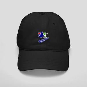 Australian soccer design Black Cap