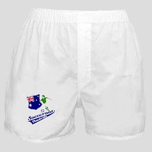 Australian soccer design Boxer Shorts