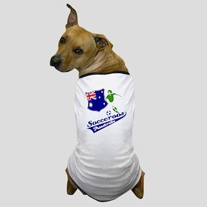 Australian soccer design Dog T-Shirt