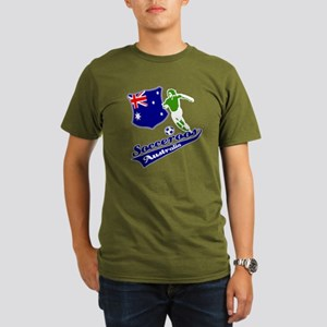 Australian soccer design Organic Men's T-Shirt (da