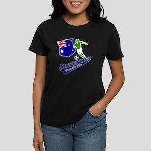 Australian soccer design Women's Dark T-Shirt