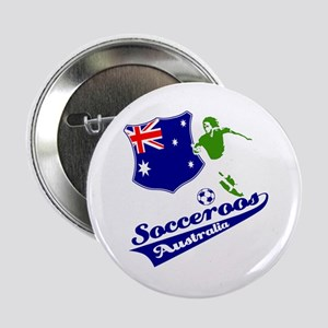 "Australian soccer design 2.25"" Button"