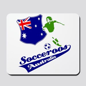 Australian soccer design Mousepad