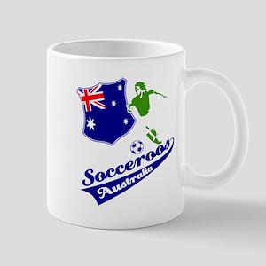 Australian soccer design Mug