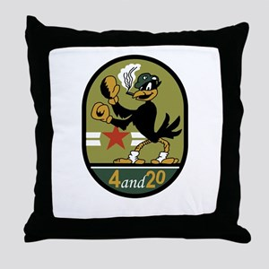 VA-45 Blackbirds Throw Pillow