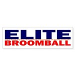 Elite Broomball Sticker (Bumper 10 pk)