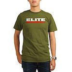 Elite Broomball Organic Men's T-Shirt (dark)