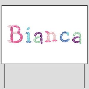 Bianca Princess Balloons Yard Sign