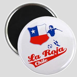 Chilean soccer Magnet