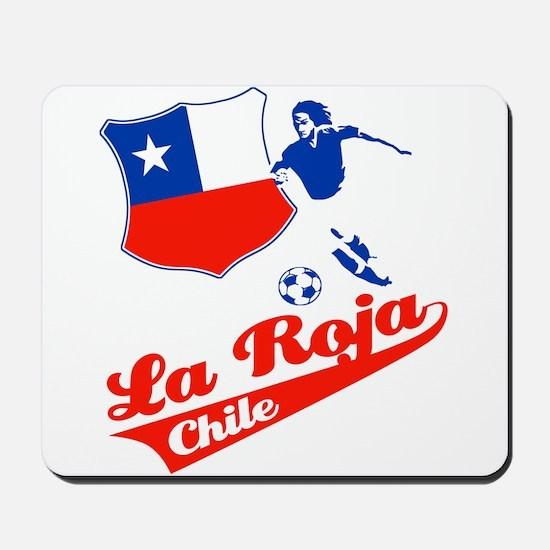 Chilean soccer Mousepad