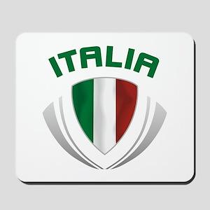 Soccer Crest ITALIA Mousepad