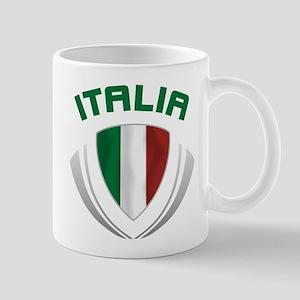 Soccer Crest ITALIA Mug
