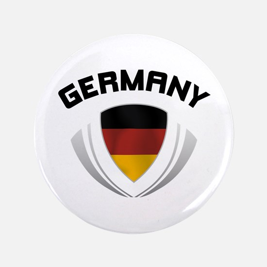 "Soccer Crest GERMANY 3.5"" Button"