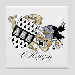 O'Higgin Coat of Arms Tile Coaster