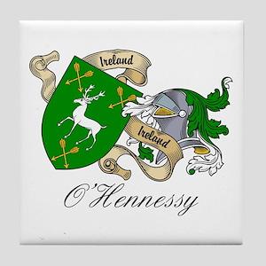 O'Hennessy Family Crest / Arm Tile Coaster