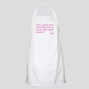 What the hell Apron