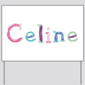 Celine Princess Balloons Yard Sign