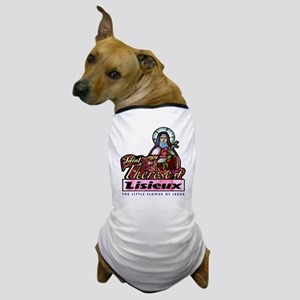 Saint Therese Dog T-Shirt