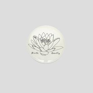 Lotus Birth Mini Button
