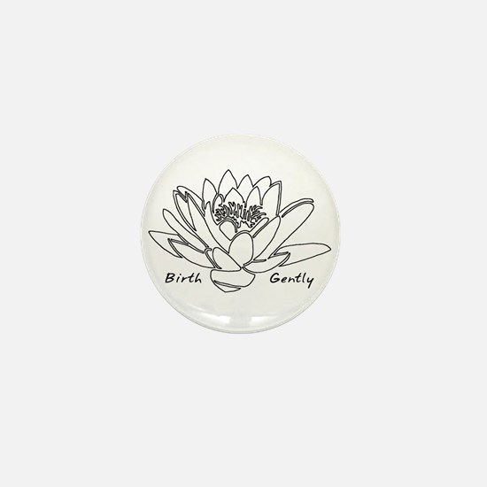 Lotus Birth Mini Button