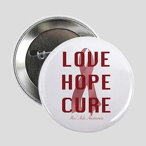 "Hiv/Aids Awareness (lhc) 2.25"" Button"