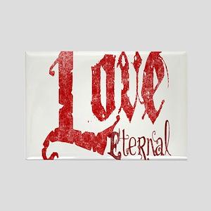 Love Eternal Rectangle Magnet