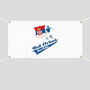 Serbian soccer Banner