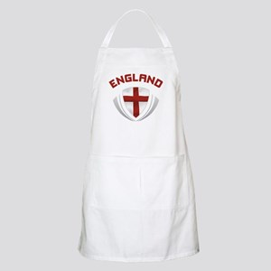 Soccer Crest ENGLAND red / grey Apron
