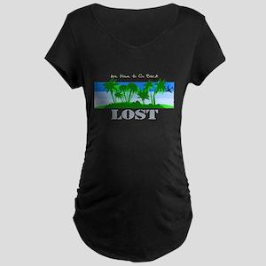 Lost co Maternity Dark T-Shirt